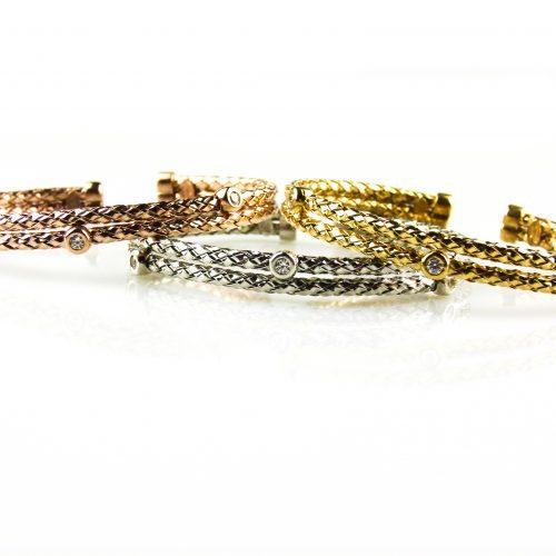 zilveren armbanden met cubic zirconia