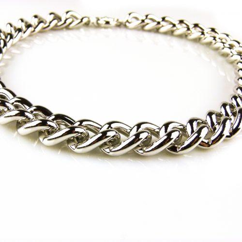 ketting zilverkleurig brons