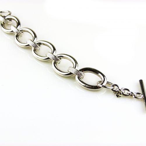 armbanden zilverkleurig brons