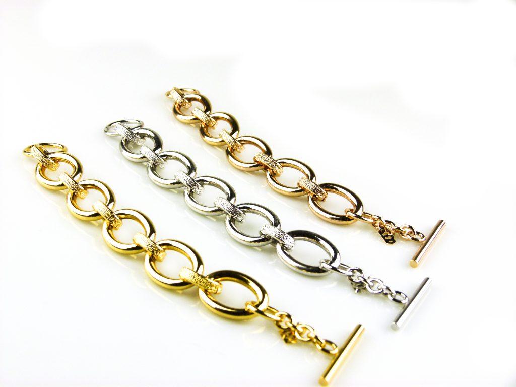 armbanden zilverkleurig roségoud verguld geel goud verguld brons