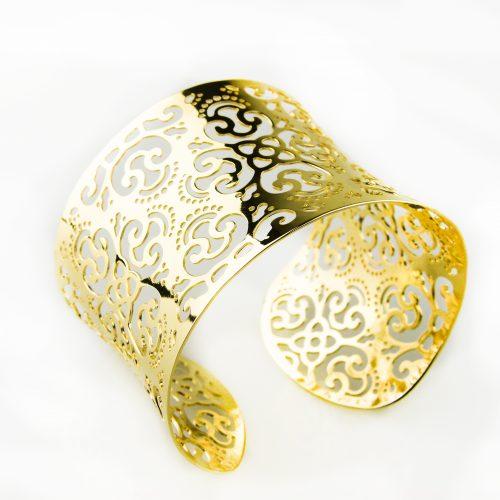 armband in brons goudkleurig