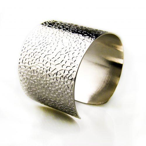 armband in brons zilverkleurig